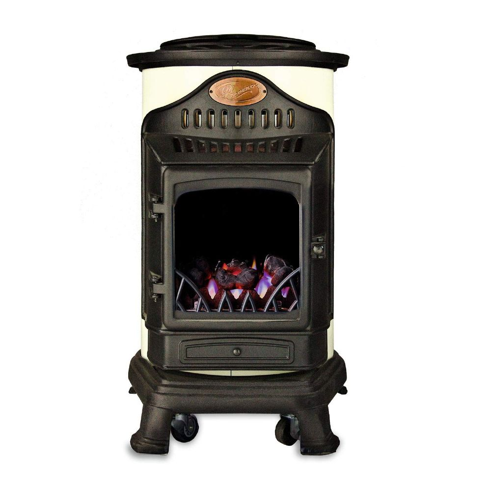 Cream Provence Living Flame Heater